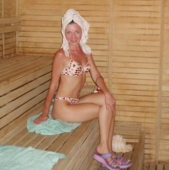 Aanwezige handdoeken in de sauna