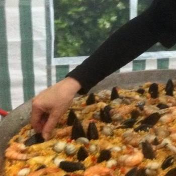 De paellabereiding