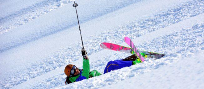 Schrijven en skieën - je moet het allebei durven